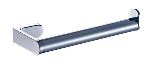 Stylish Contemporary Polished Chrome Towel Ring