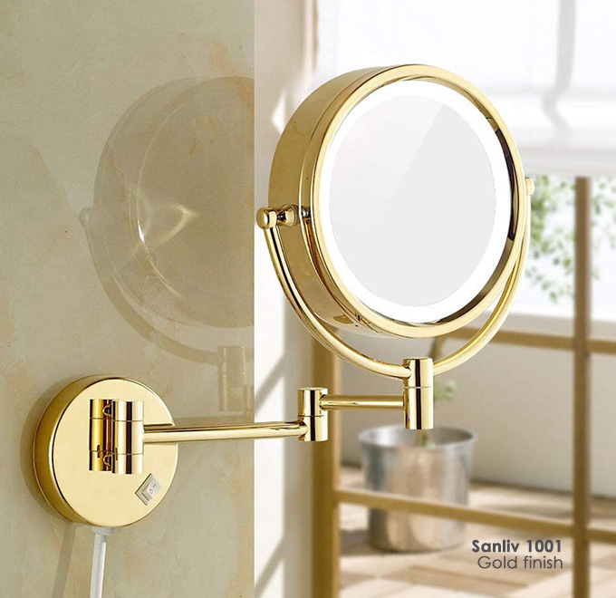 Magnifying Makeup Mirrors Sanliv Bathroom Accessories For Hotel Projects