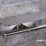 Modern Spare Double Toilet Roll Holder 8751d