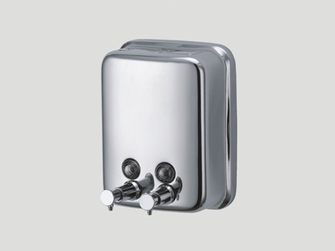Stainless Steel shampoo & Lotion Soap Dispenser