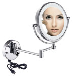 Two-sided LED Light Magnifying Makeup Mirror 1006