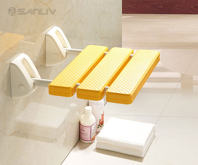 Wall Mount Footrest : Shower foot rest shelf