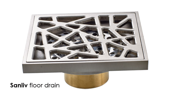 Bathroom Tile Floor Drain : Modern shower floor drains sanliv bathroom accessories
