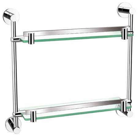 Double Glass Shelf 8702