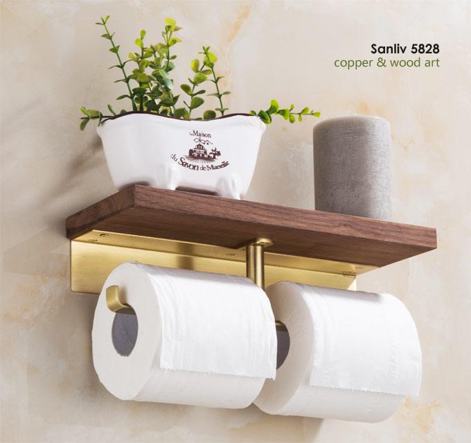 "TOILET ROLL HOLDER SAA 5.5/"" Handles Furniture GZ86868"