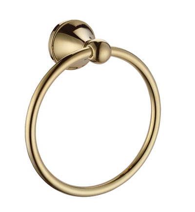China Sanliv Towel Ring Vibrant French Gold