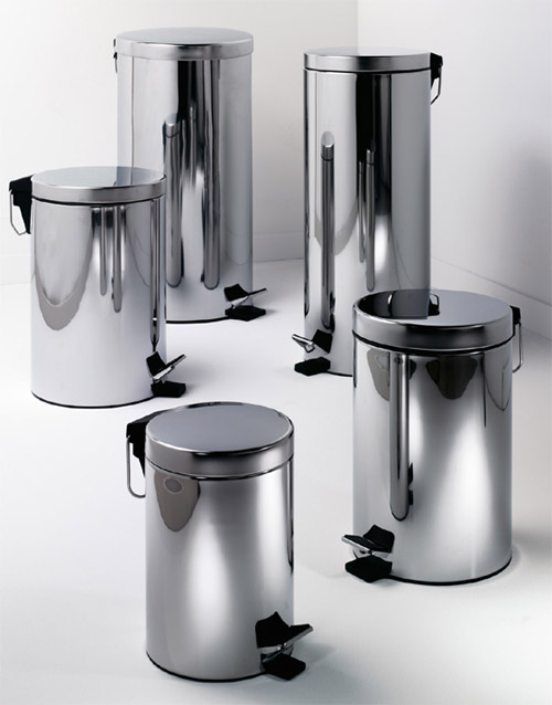 Stainless Steel Step Trash Bins or Garbage Cans