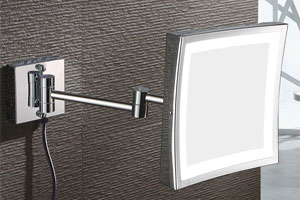 Magnifying Makeup Mirrors for Hotel Bathrooms