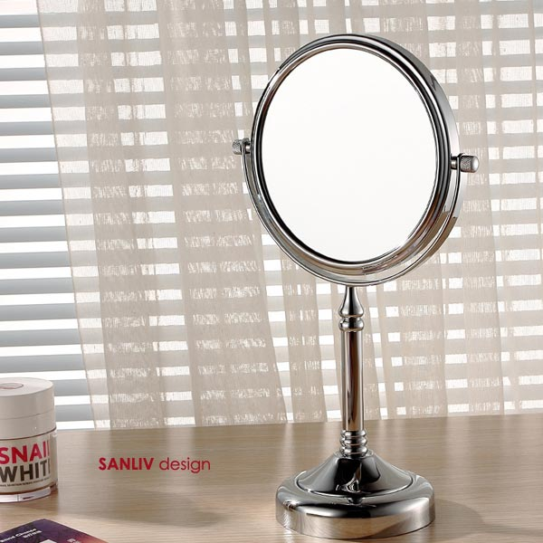 Tabletop Magnifying Vanity Mirror Chrome 1063