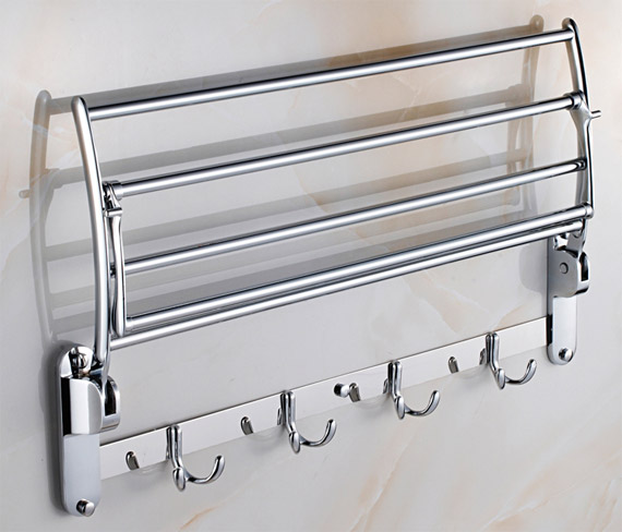Lovely Movable Towel Shelf