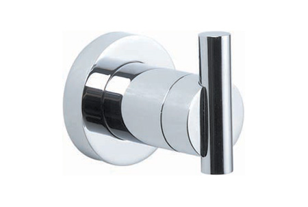 Genial Bath Accessory Robe Hook Chrome