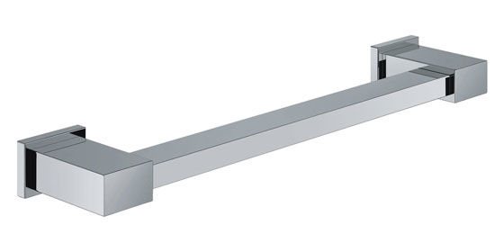 Square Grab Rail or Towel Bar for Hotel Bathrooms 5895