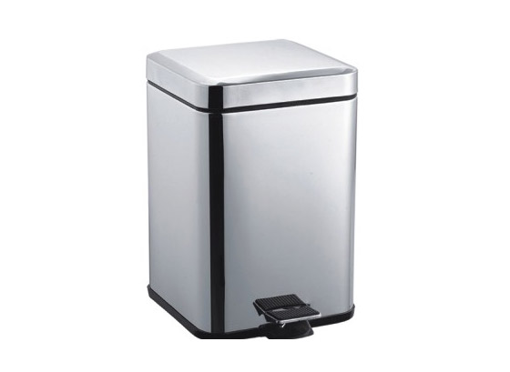 Stainless steel Square dust bin/ waste bin/trash can