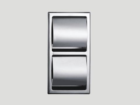 Double Roll Recessed Toilet Tissue Dispenser 5802