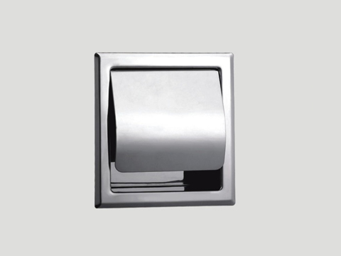 Recessed Toilet Paper Holder with Lid 5808 - Toilet Paper Holders by ...