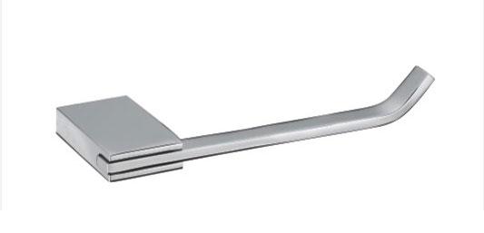 Square Chromed Brass Toilet Roll Holder 2051L