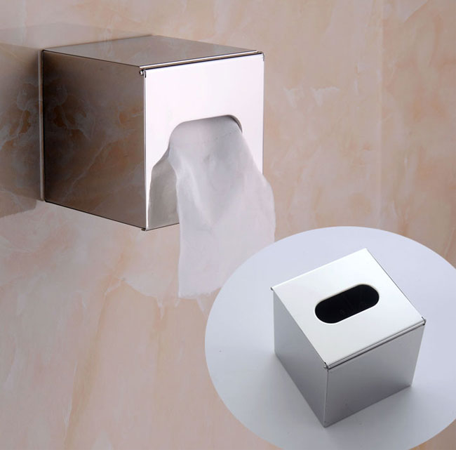 Square tissue roll holder for hotel bathrooms 5810 toilet paper holders by sanliv bathroom - Bathroom accessories toilet paper holders ...