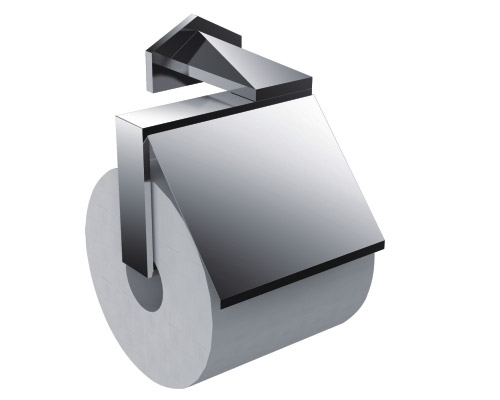 Chrome Plated Brass Hotel Collection Toilet Paper Holder for Project Replacement