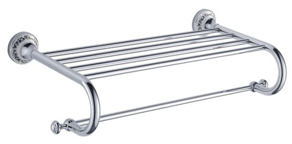 Chrome Towel Rack or Towel Shelf 3322