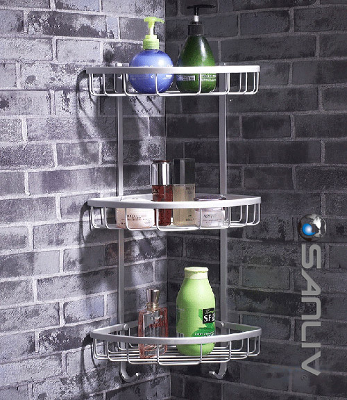 Wire Basket Shower Shelf Sanliv