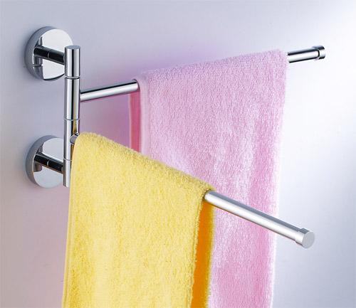 Wall Mounted Double Bar Adjule Towel Rack 5092