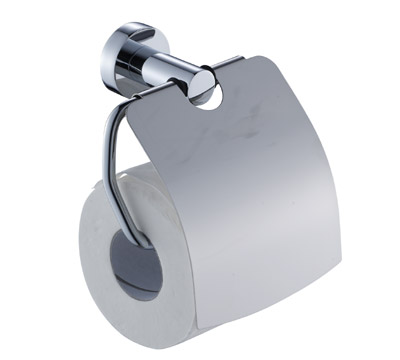 8151 Bathroom Roll Holder With Lid