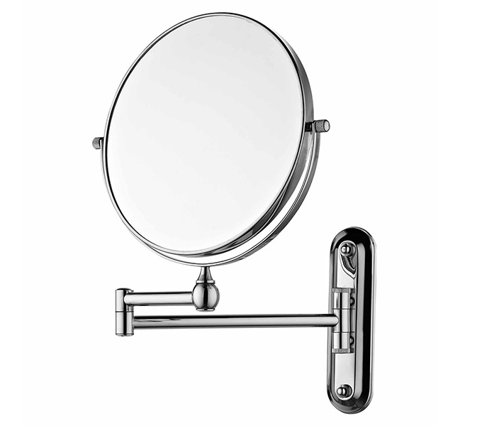 Sanliv Spaire Wall Mounted Makeup Mirror 7x Magnifying Bathroom Swing Arm 8