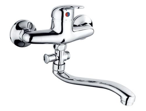 Bath Faucet With Diverter And Long Spout 62007 Bath