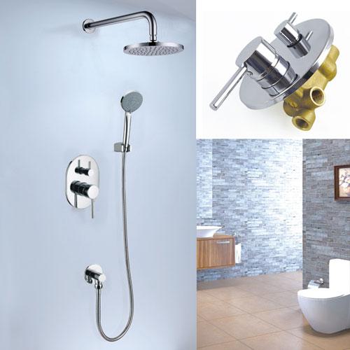 Concealed Rain Shower Faucet Set A2696