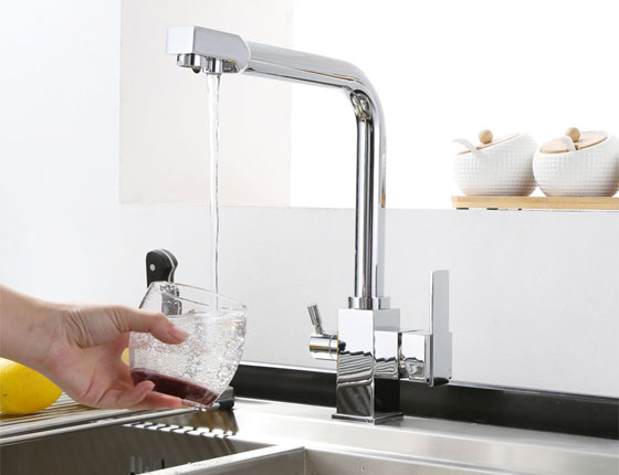 Triflow Kitchen Mixer With Filtered Water 27303